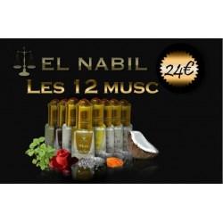 Pack de musc El Nabil