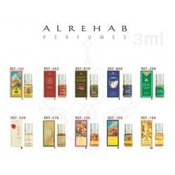 Lot de 5 boites musc Al Rehab