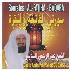 CD SOURATE AL FATIHA ET BAQARA