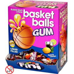 BOITES 200 CHEWING GUM BALLON BASKET