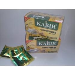 Lot de 10 Infusion Gingembre et miel KABIR