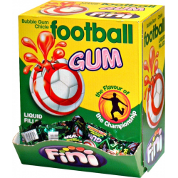 BOITES 200 CHEWING GUM FOOTBALL
