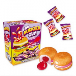 BOITES 200 CHEWING GUM BURGER